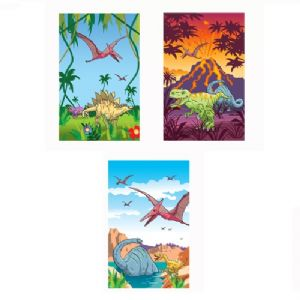Dinosaur Notebook Notepad Jotter - Boys Party Bag Fillers
